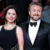 Pictured: Rian Johnson and Karina Longworth.