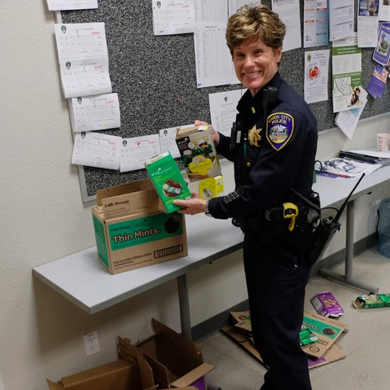 Cops Buy Out Girl Scout Cookies After Robbery