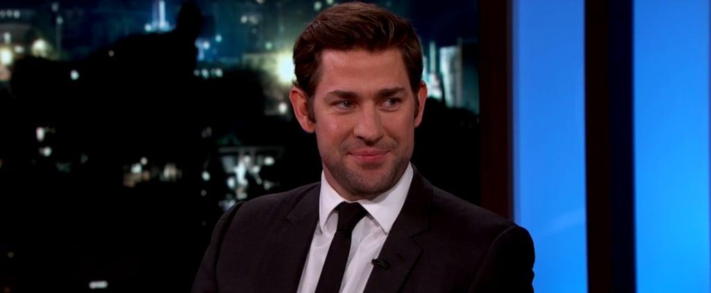 John Krasinski on Jimmy Kimmel Live Video August 2016