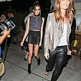 Cindy Crawford and Kaia Gerber Wearing Rocker-Chic Ensembles in 2016