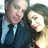 Channing Tatum and Jenna Dewan-Tatum attended the Magic Mike premiere in London. Source: Jenna Dewan-Tatum on WhoSay