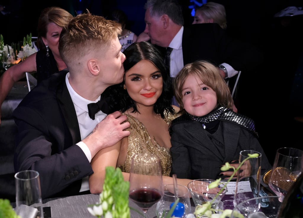 Pictured: Ariel Winter, Levi Meaden, and Jeremy Maguire