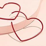 Kate Spade New York My Precious Heart Hoop Earrings