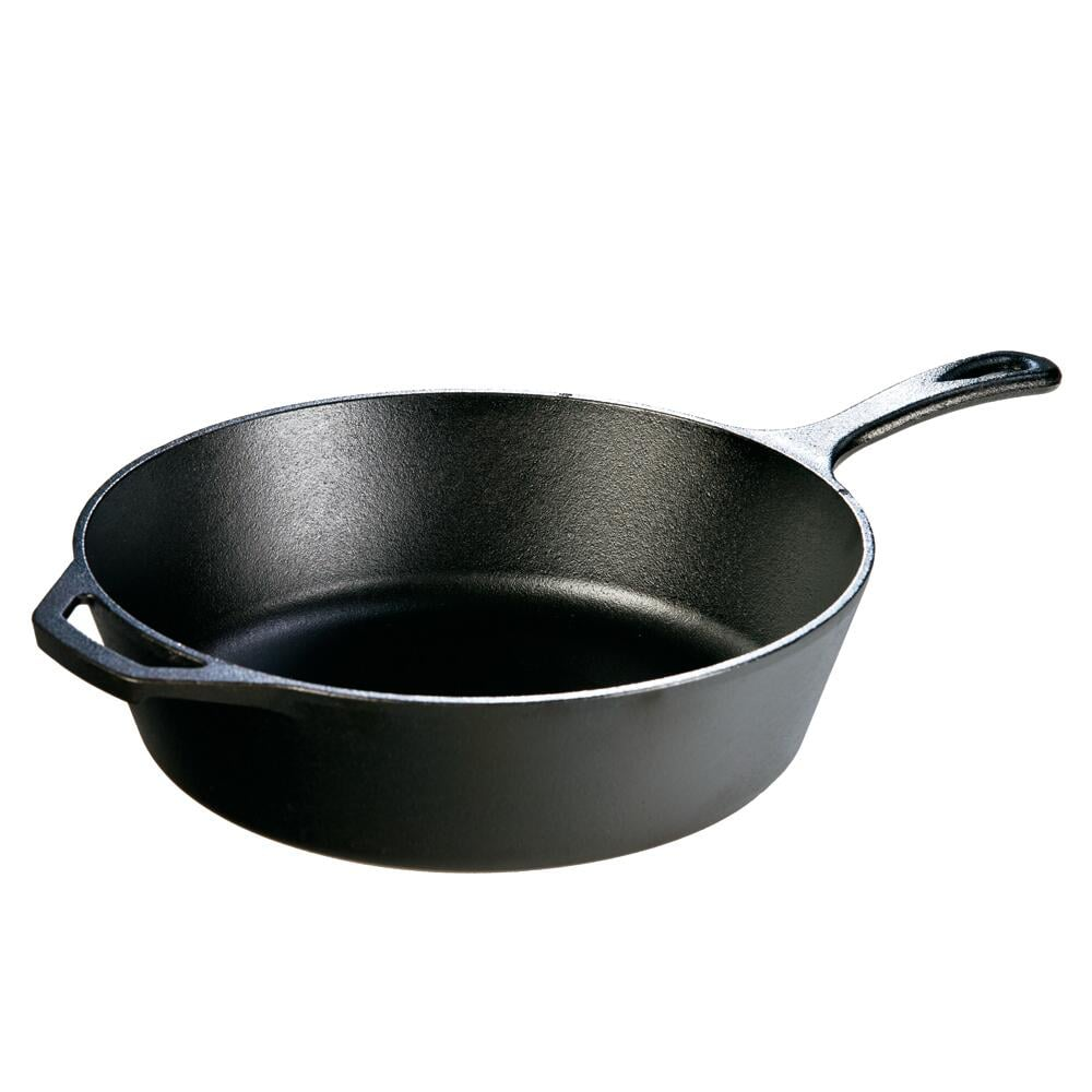 Lodge 12 in. Cast Iron Deep Skillet