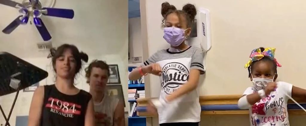 Camila Cabello and Shawn Mendes Surprise Children's Hospital