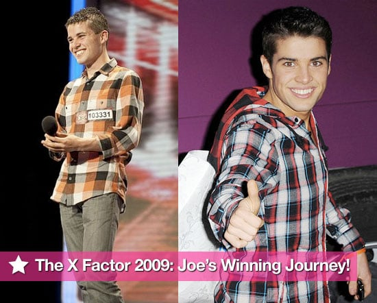 Photos of Joe McElderry's Journey To Become The X Factor 2009 Winner — From First Audition To Single Promotion!