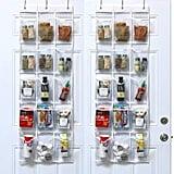 SimpleHouseware Crystal Clear Over-the-Door Hanging Pantry Organiser