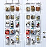 SimpleHouseware Crystal Clear Over-the-Door Hanging Pantry Organizer