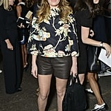 Natasha Lyonne sported leather shorts at Thursday's Honor presentation.