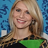 Claire Danes smiled at the premiere of HBO's Girls in NYC.