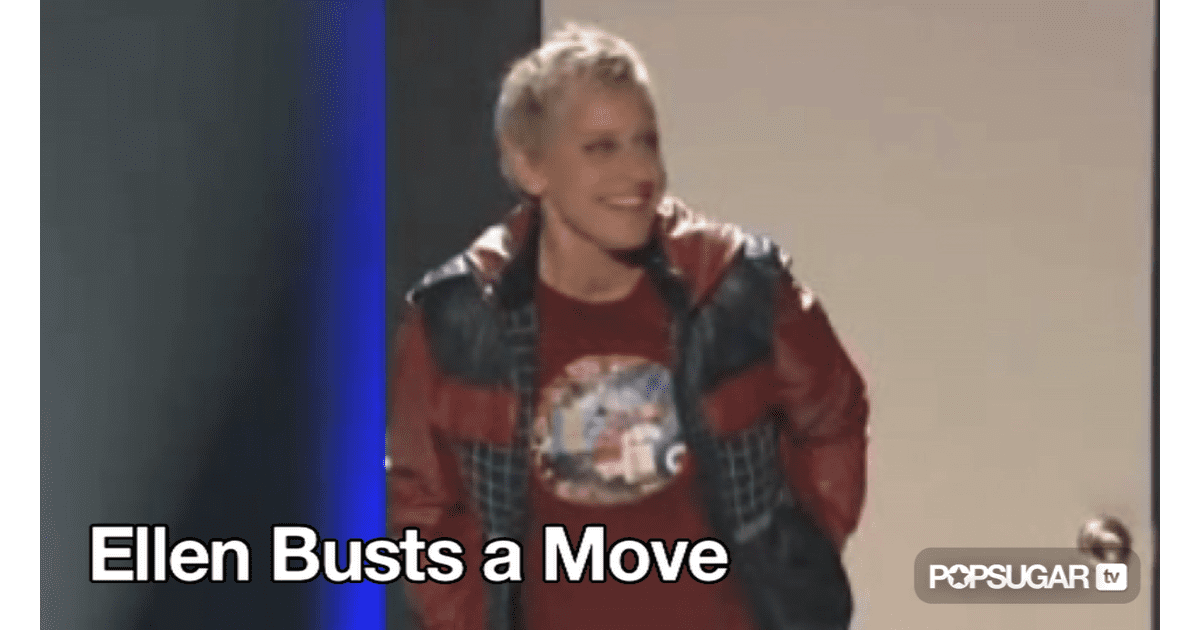 Video of Ellen DeGeneres Dancing on So You Think You Can ...