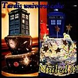 TARDIS Universe Cake