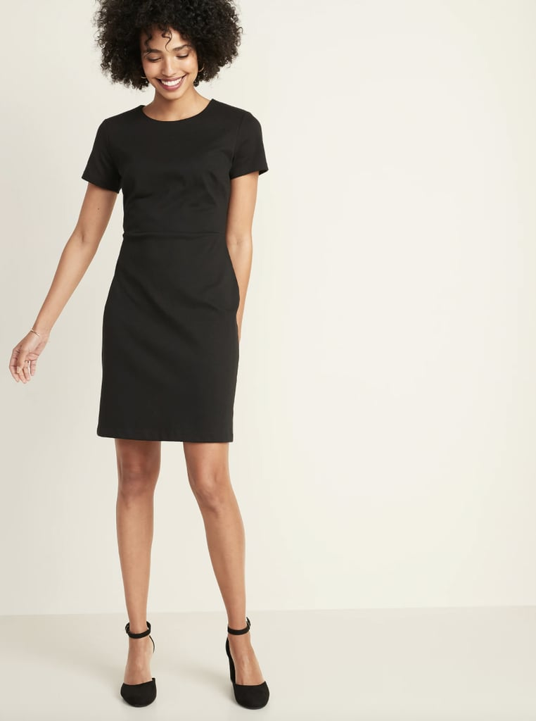 For the Office: Old Navy Ponte-Knit Sheath Dress