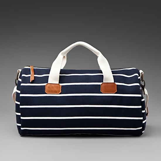 Brandy & Melville Striped Duffle, $60