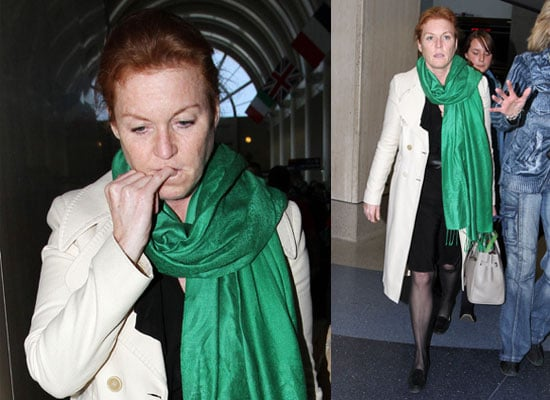Pictures of Fergie Sarah Ferguson After Prince Andrew Access For Cash Scandal