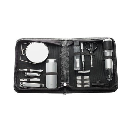 Perfect Solutions Men's Grooming Kit With Battery Operated Nose Hair Trimmer ($29.97)