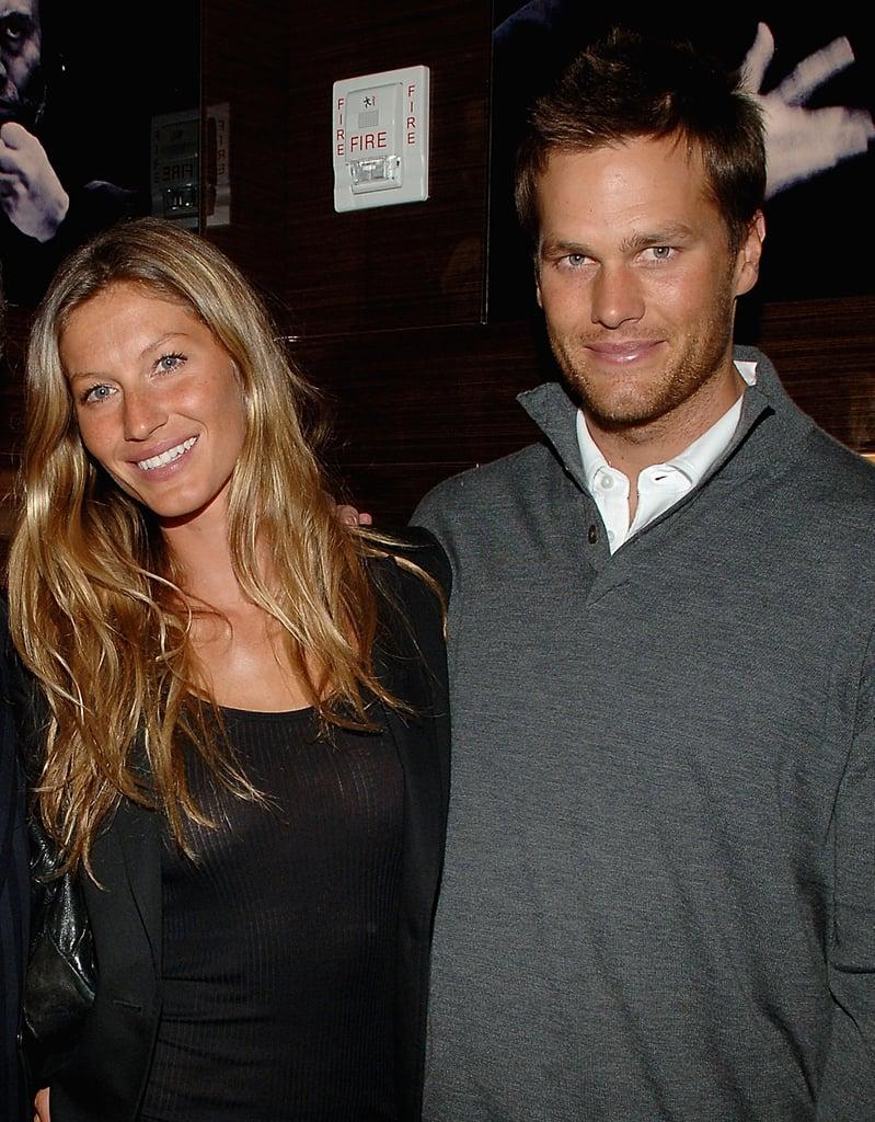 Gisele Bündchen and Tom Brady in 2008