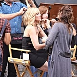 Photos From Set of SATC2