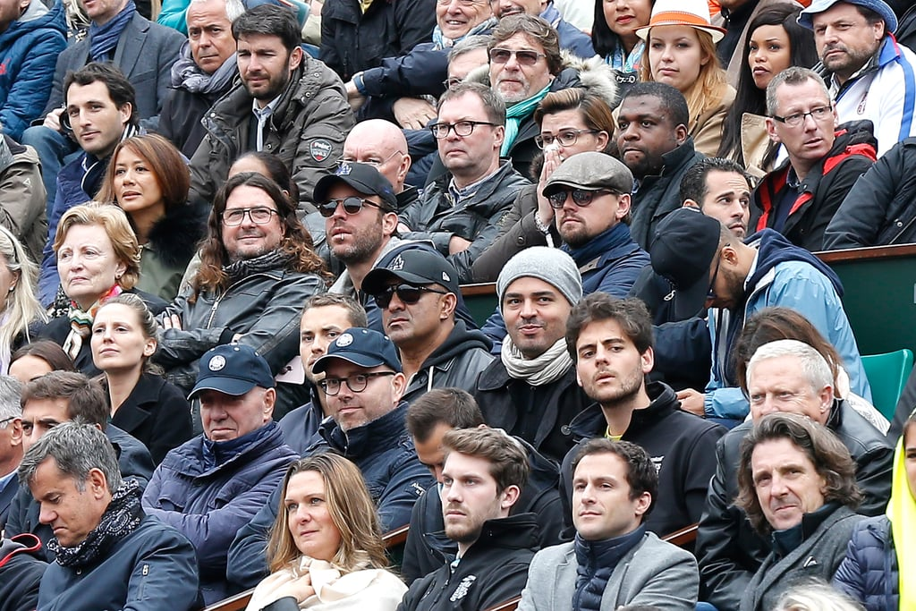 Leonardo DiCaprio at French Open 2016