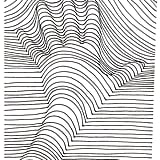 Get the coloring page: Hand lines