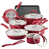 Rachael Ray Create Delicious 13 Piece Aluminium Non Stick Cookware Set