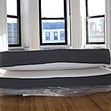 Once completely unconstrained, the mattress came to life. This experience was reminiscent of playing with those expandable water toys as a kid, except no water was involved, and the object in question was a queen-size mattress.