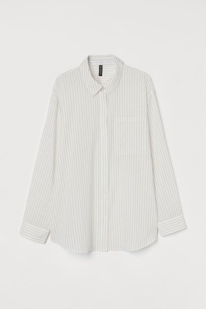 Oversized Cotton Shirt