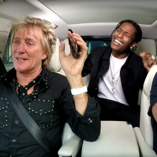 Rod Stewart and ASAP Rocky Carpool With James Corden Video