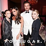 Mary-Kate and Ashley Olsen and David and Victoria Beckham — 2014