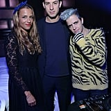 Samantha, Charlotte, and Mark Ronson
