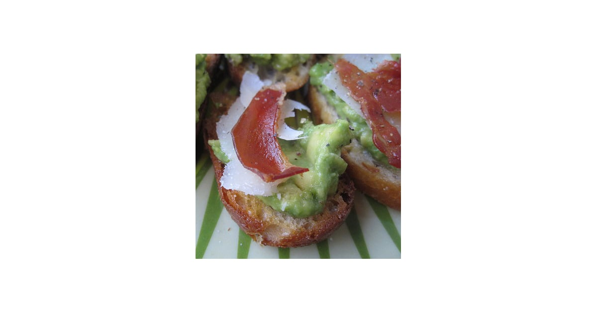 Crisped Prosciutto and Avocado Crostini | Recipe of the ...