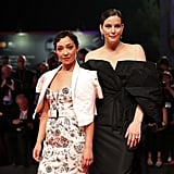 Ruth Negga and Liv Tyler at the Ad Astra Premiere