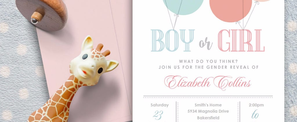 20+ Adorable Gender Reveal Party Invitations