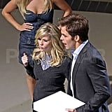 Pictures of Reese Witherspoon and Chris Pine on Set in Vancouver