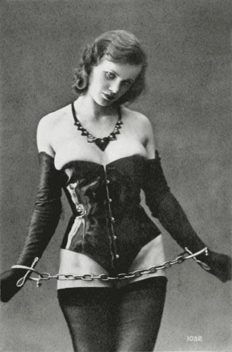 While high-society women were wearing corsets to be ...