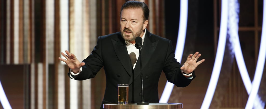 Celebrity Reactions to Ricky Gervais's Golden Globes Speech