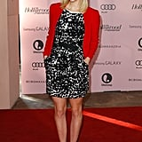 Georgia King stepped out in LA for The Hollywood Reporter's Power 100: Women in Entertainment breakfast in LA.
