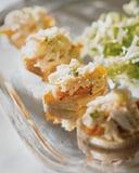 Crab Salad Canape Recipe