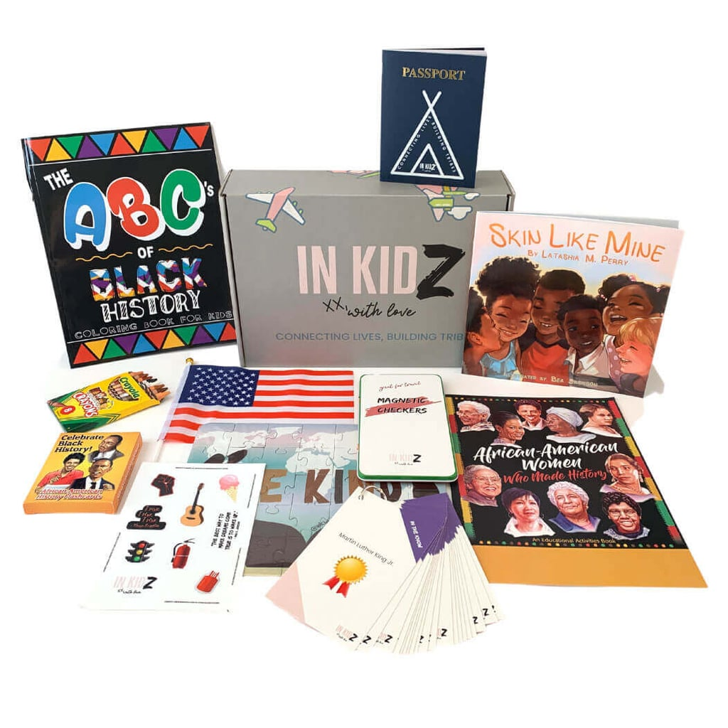 "As parents, we're determined to give our kids a well-rounded understanding of their heritage as well as American history. And while traditional school curriculum may provide a brief overview of important events when it comes to achievements in Black communities, it leaves a lot to be desired. Fortunately, In Kidz's Black History Month Box gives little kids a deeper look into notable events and people who have helped shape our nation.  ""The box focuses on the varied ways Black Americans have enriched and expanded American culture beyond what children learn in the classroom,"" reads the In Kidz website. ""Our Black History Box is curated for kids to help fill the gaps that school systems have not filled. This box includes fun activities that explore the work of Black scientists, inventors, authors, business owners, musicians, athletes, and political leaders, etc."" Sourced from mostly Black-owned businesses, these engaging books, themed puzzles, and other treasures make learning about Black history fun. Scroll ahead to get an in-depth look at what this incredible box has to offer!      Related:                                                                                                           These 5 Words Changed the Way My Kids Receive Gifts"