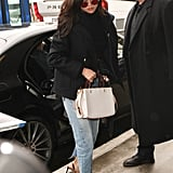 Selena Gomez Traded Her Airport Sweats For a Sexy Pair of Jeans