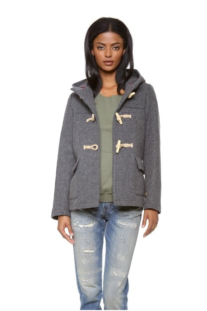 Your everyday coat found, thanks to this Gerald & Stewart Wool Toggle Coat ($279).