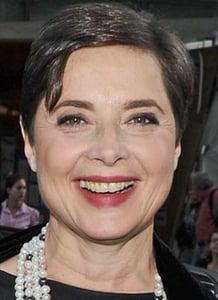 Isabella Rossellini Wears New Nars Lipstick