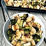 Tofu, Broccoli, and Cauliflower Sheet-Pan Meal