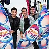 August: The Jonas Brothers Took Home the Decade Award at the Teen Choice Awards