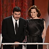 Alfred Molina and Sigourney Weaver
