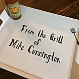 Personalized BBQ Tray