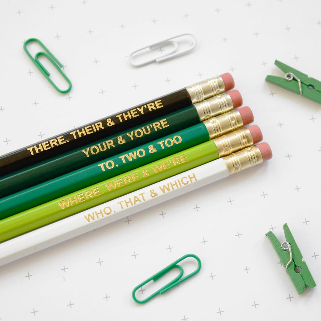 Grammar Pencils ($9)