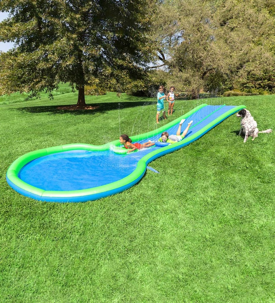 Ultimate Dual Water Slide | Backyard Water Toys and Pools ...
