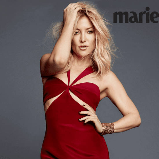 Kate Hudson on Marie Claire October 2016