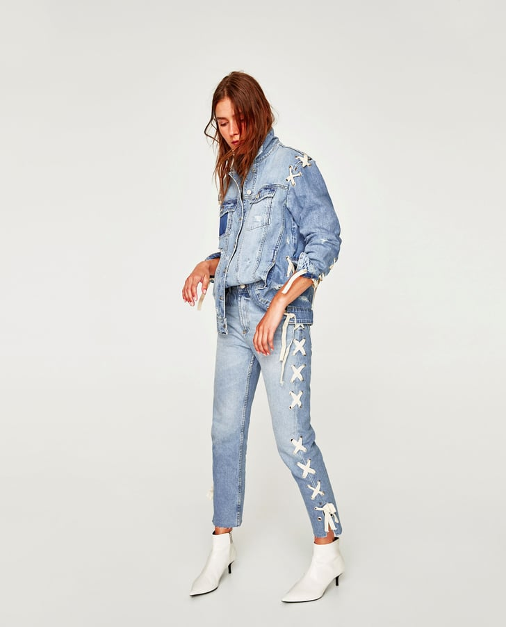 The Very Best Denim You Could Possibly Shop at Zara Right Now